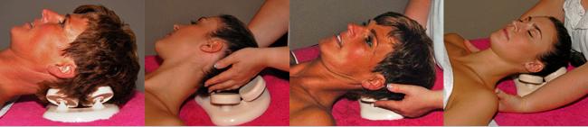 Podhlavníky do parní sauny či parní lázně