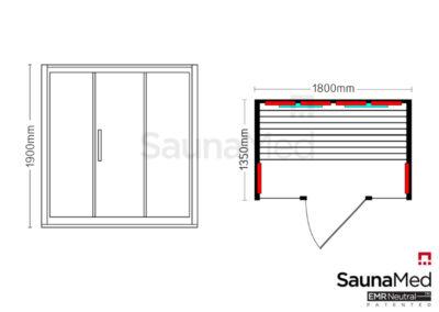 Infrasauna_SaunaMed_Lumina_ISML4