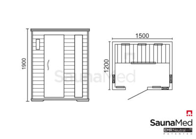 Infrasauna_SaunaMed_Luxury_ISMLX3