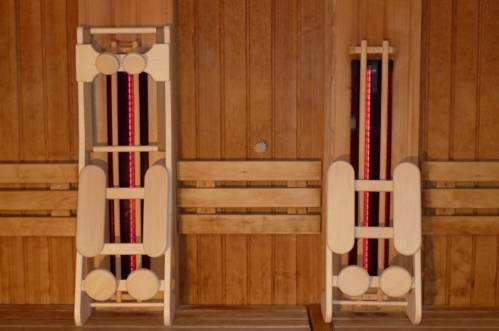 vysoce kvalitni operky hlavy a zad do sauny