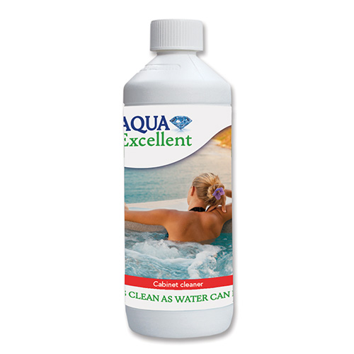 bezchlorova chemie Aqua Excellent - Cistic kabinetu virivky