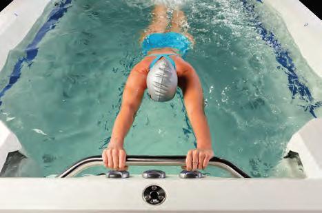 Marquis swim spa pomůcky pro cvičení ve vodě